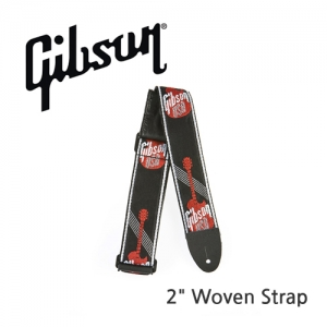 "[Gibson] 깁슨 스트랩 2"" Woven Strap with Gibson Logo"